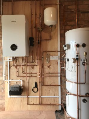unvented cylinder installation